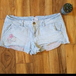 American Eagle Outfitters Pinstripe Shorts